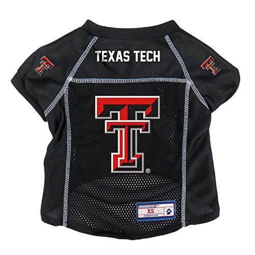 (NCAA Texas Tech Red Raiders Pet Jersey, XS)