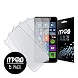 (US) Microsoft Lumia 640 Screen Protector Cover, Matte Anti-Glare 5-Pack - MPERO