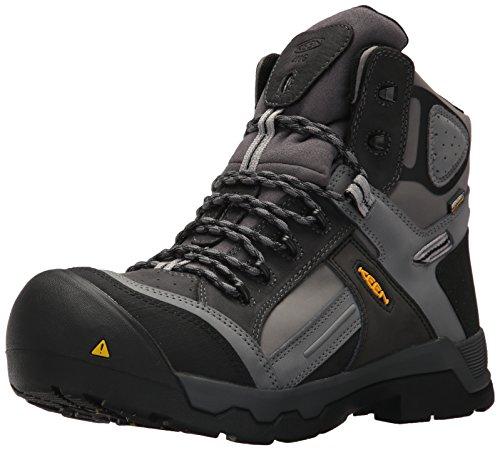 "Keen Utility Men's Davenport 6"" 400G CT Waterproof Industrial and Construction Shoe, Magnet/Steel Grey, 13 D US from KEEN Utility"