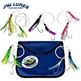 JawLures Official Offshore Deep Sea Fishing Lures | Uniquely Designed to Hook 2 Fish Simultaneously | Made in The USA