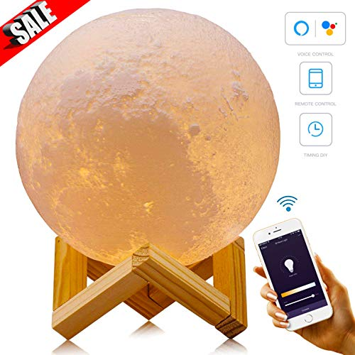 Smart WiFi 3D Moon Lamp 5.9