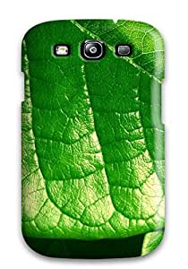 Pretty IaIPvzt724NPILe Galaxy S3 Case Cover/ Green Leaf Series High Quality Case
