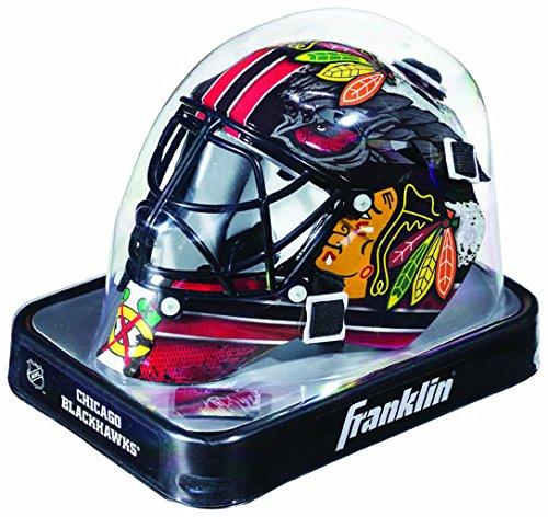 (Chicago Blackhawks Franklin Mini Goalie Mask---(Package of 2))