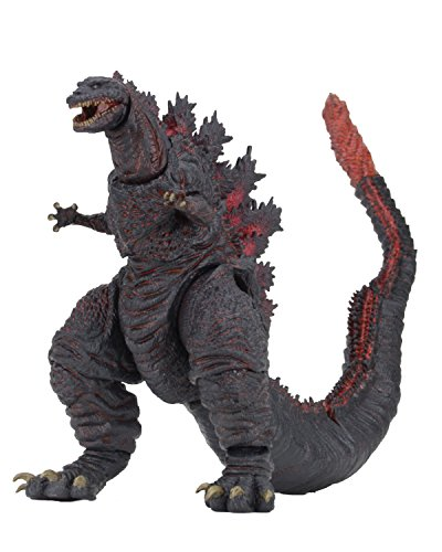 NECA Godzilla Head Action Figure