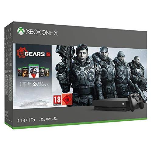 chollos oferta descuentos barato Xbox One X Gears 5