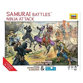 Amazon.com: Zvezda modelos zv8017 Samurai Warriors: Toys & Games