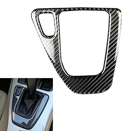 Arotom Carbon Fiber Gear Shift Control Panel Cover Sticker for 3 Series BMW E90 E92 E93 (Pure Color)