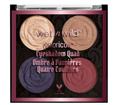 Rebel Rose Color Icon Eyeshadow Quad (Secret Garden ()