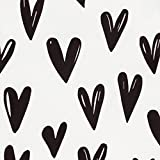 Bumkins Waterproof Sleeved Bib, Hearts, 6-24 Months