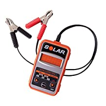 SOLAR BA7 100-1200 CCA Electronic Battery and System Tester by Clore Automotive