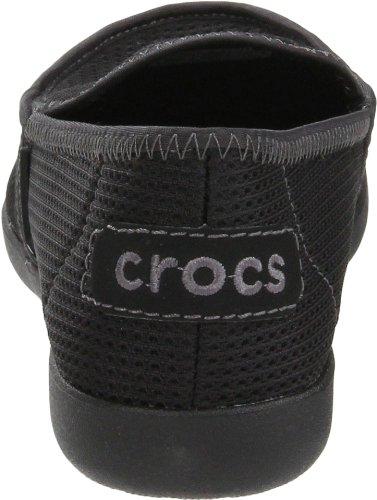 Crocs Kvinners Urne Rx Mokasinversjon Sort / Sort