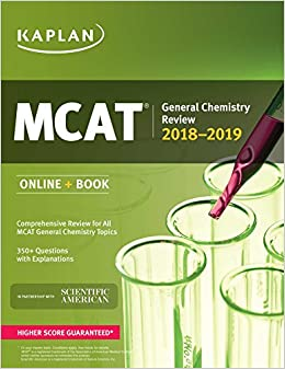 Books Related With MCAT General Chemistry Review 2018 2019 Online Book Kaplan Test Prep By