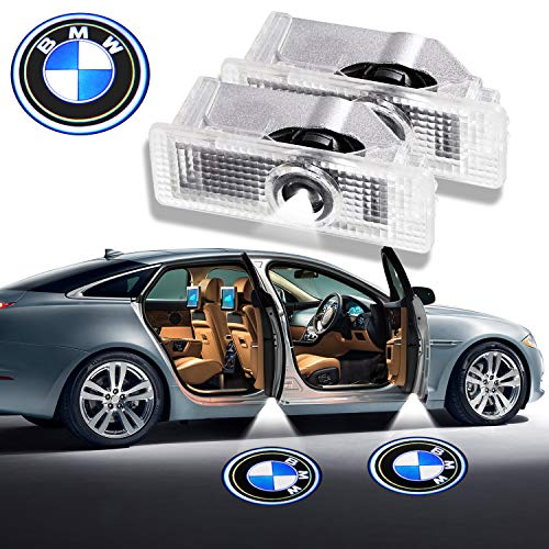 BMW LED Door Light Logo Projector Ghost Shadow Welcome Lamp Car Remodel Accessories for BMW Series – 2 Pack
