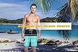LTIFONE Men's Swim Trunks Quick Dry Beach Board