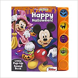 disney mickey mouse clubhouse happy halloween little popup sound book editors of phoenix