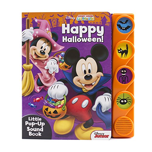 Disney Mickey Mouse Clubhouse - Happy Halloween! Sound Book - PI Kids]()