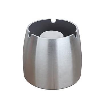 Amazon.com: Cenicero Attac de acero inoxidable, resistente ...