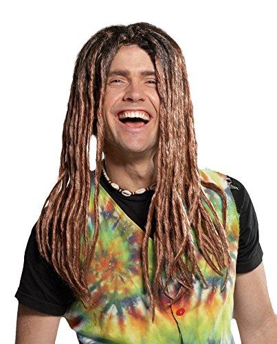 UHC Adult Dreadlock Rasta Dreads Wig Halloween Costume Accessory
