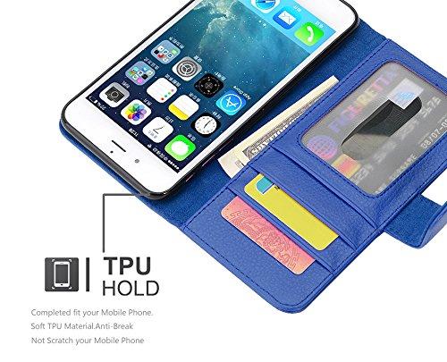 Cadorabo - Funda >                                      Apple iPhone 8 / 7 / 7S                                      < Book Style de Cuero Sintético en Diseño Libro
