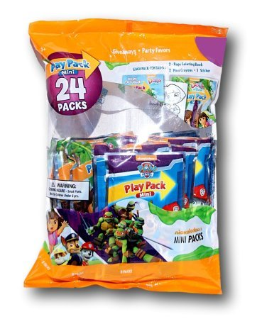 Bendon Party Favor Play Pack - Nickelodeon - 24 Mini Packs]()