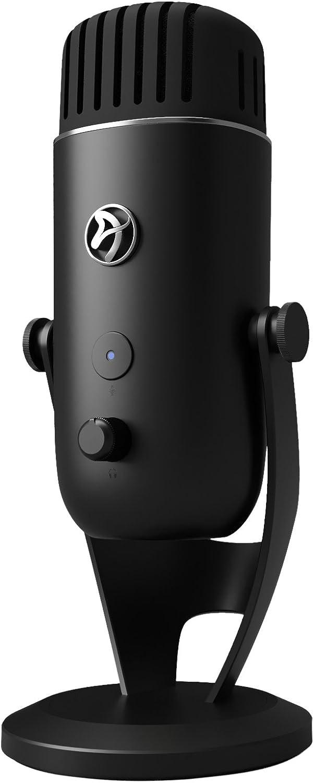 Noir 35 x 15 x 20 cm Arozzi Colonna Microphone