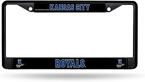 MLB Royals Chrome Frame, Black, 15 x 8