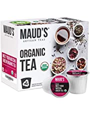 Maud's Organic Matcha Green Tea (Meet Your Matcha), 24ct. Solar Energy Produced Recyclable Single Serve Organic Green Tea Pods – 100% Organic Matcha Green Tea California Blended, KCup Compatible