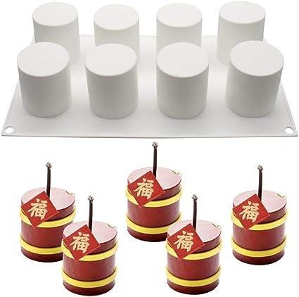 3 Moldes de Silicona Pudding casos Hornear Souffle postre pasteles de chocolate Ice Cream