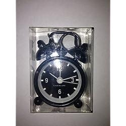 Kikkerland Mini Bell Alarm Clocks