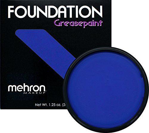 Mehron Makeup Foundation Greasepaint (1.25 oz) (BLUE)