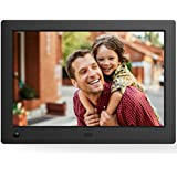 NIX X08G Advance 8 Widescreen Hi-Res Digital Photo & HD Video Frame with Hu-Motion Sensor, Black