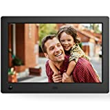 NIX X08G Advance 8'' Widescreen Hi-Res Digital Photo & HD Video Frame with Hu-Motion Sensor, Black