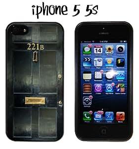 221B Sherlock iPhone 5 5s case Silicone BBC Holmes Benedict Cumberbatch Watson
