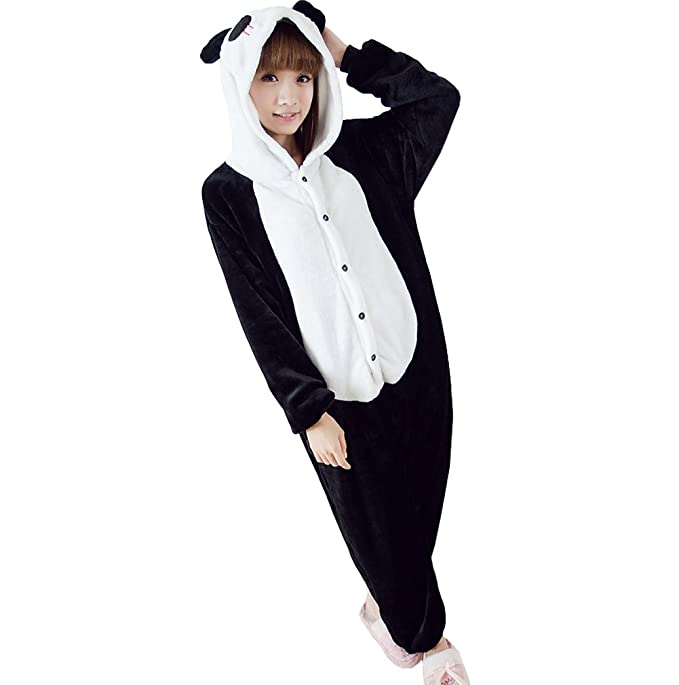 Ferrand Kigurumi Pijamas Unisexo Adulto Traje Disfraz Animal Adulto Animal Pyjamas Panda L