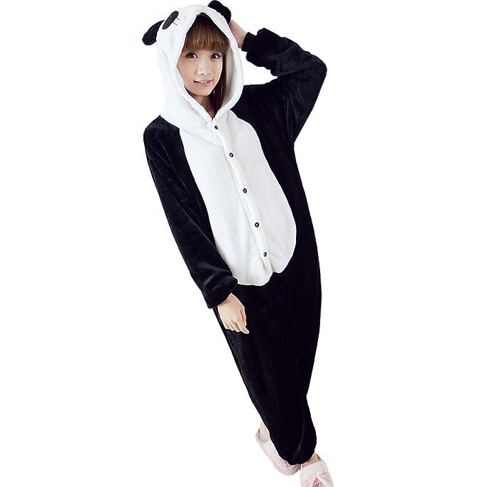 Ferrand Kigurumi Pijamas Unisexo Adulto Traje Disfraz Animal Adulto Animal Pyjamas Panda L: Amazon.es: Ropa y accesorios
