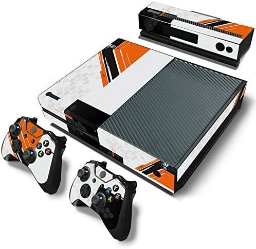 Xbox One Console Skin Decal Sticker TitanFall + 2 Controller ...