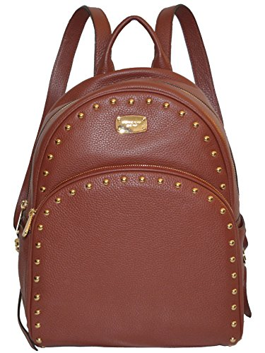 Michael Kors Abbey Leather Studded Backpack Tote ()