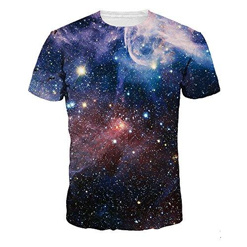 Sperrins Mens Plus Size Loose Fashion T-Shirts Universe