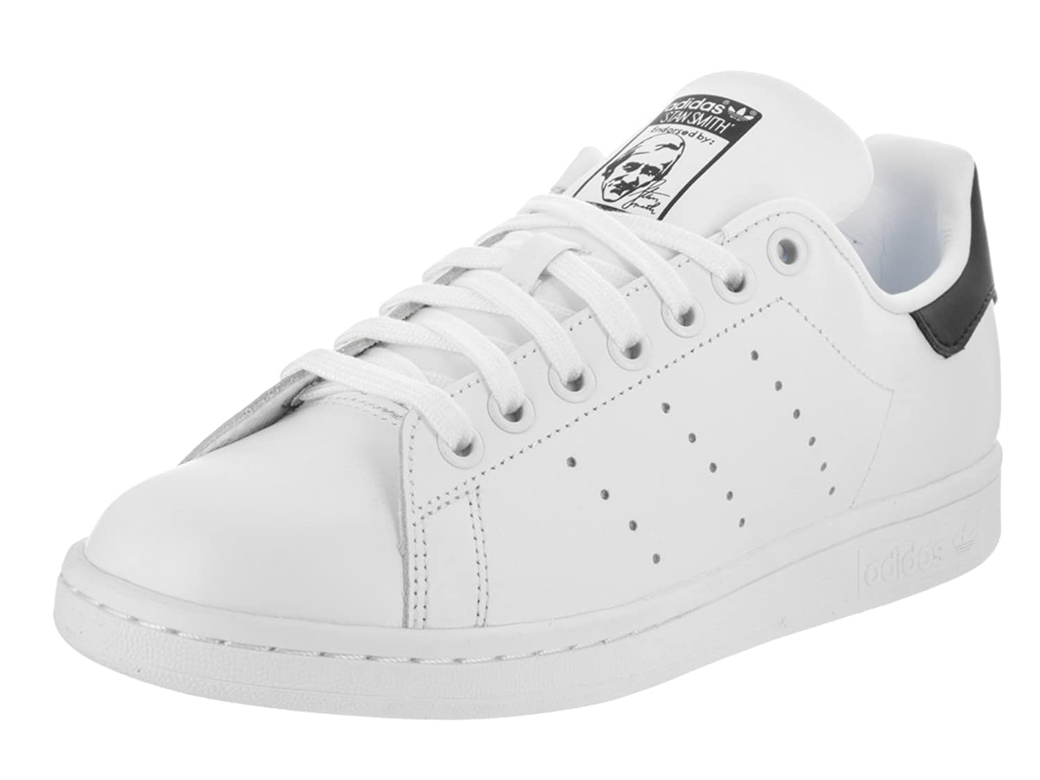 Stan Smith W Ladies in White/Black by Adidas