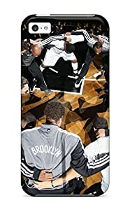 3054683K314740715 brooklyn nets nba basketball (11) NBA Sports & Colleges colorful iPhone 5c cases WANGJING JINDA