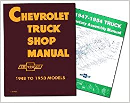 CHEVROLET TRUCK REPAIR SHOP & SERVICE MANUAL & FACTORY EMBLY ... on wheel for chevrolet 3100,