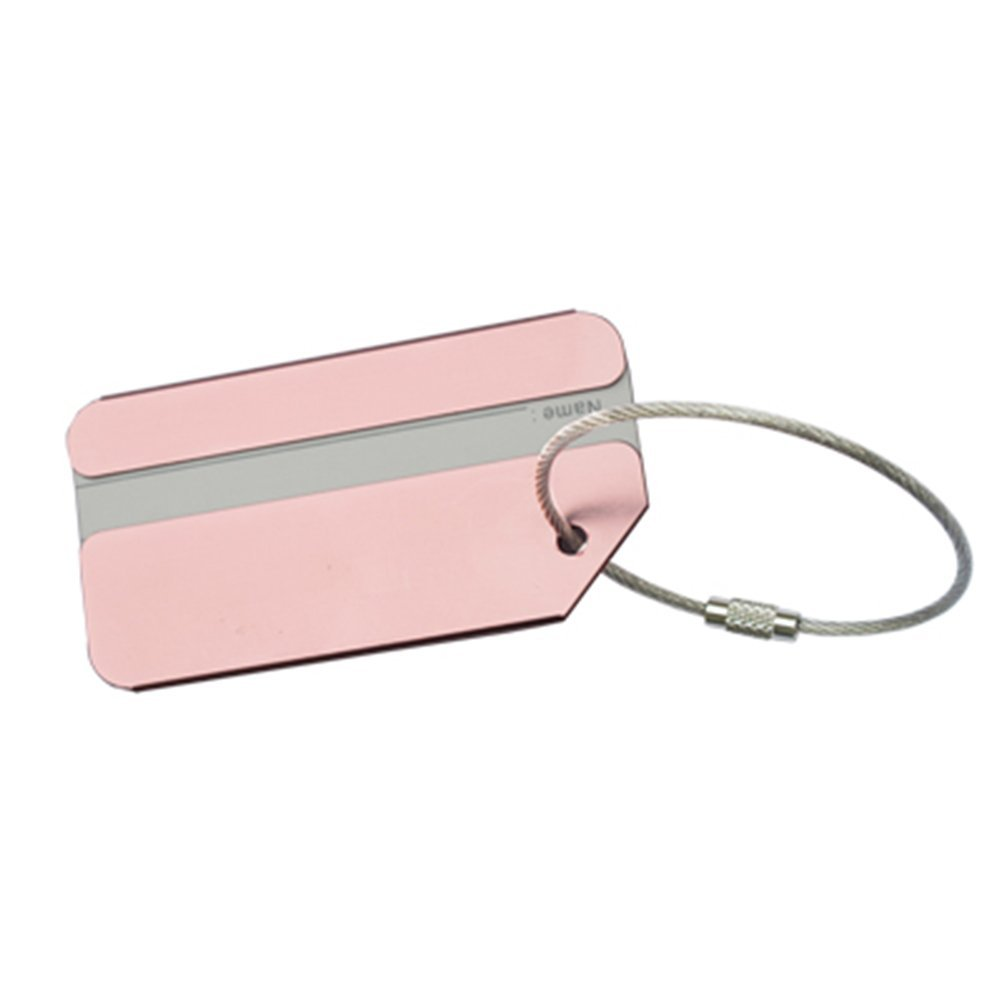 VORCOOL 7Pcs Luggage Tag Aluminum Travel Luggage Baggage Handbag Tag Fashion Environment Friendly Travel Luggage Tags by VORCOOL (Image #6)