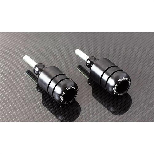15-16 SUZUKI GSX-S750: Sato Racing No Mod Frame Sliders (Black)