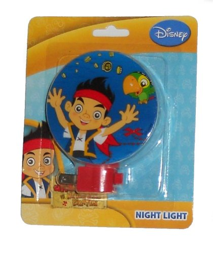 Jake and the Neverland Pirates Night Light (Jake with Parrot) (Peter Pan Jake And The Neverland Pirates)