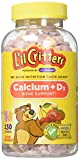 Cheap L'il Critters Calcium Gummy Bears with Vitamin D3, 150 Count (2 Pack)