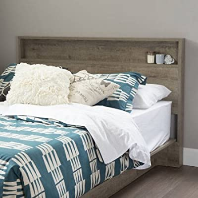 South Shore Holland Full/Queen Headboard, 54/60'', /Model: 3370261 /color:Rustic Finish