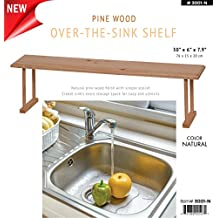 Wee's Beyond Wood Over the Sink 3001-N Storage Shelf, Natural