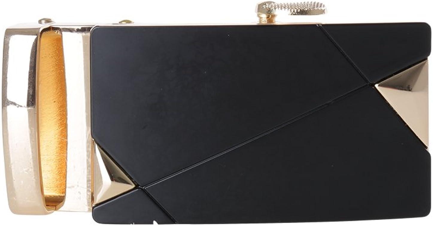 uxcell Men Matte Rectangular 3.5cm Width Automatic Belt Buckle ONLY
