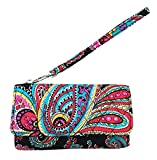 Vera Bradley Smartphone Wristlet for iPhone 6 (One size, Parisian paisley)