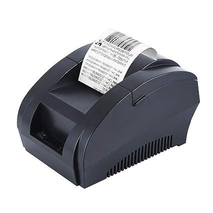Impresora de recibos térmica USB de 58 mm POS Mini pequeña ...